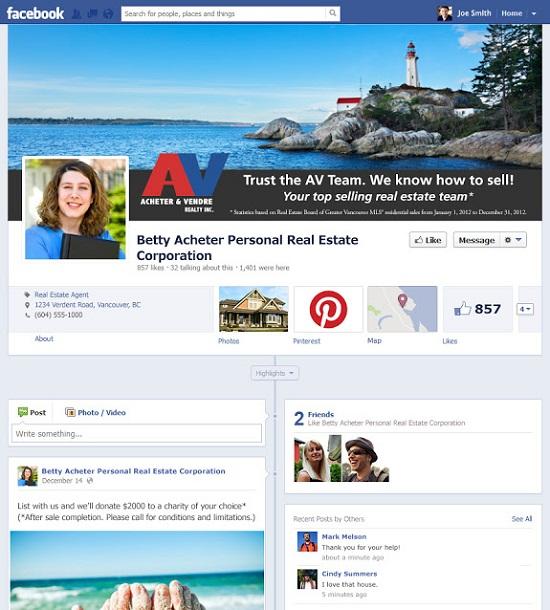bán bất động sản qua facebook