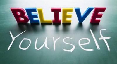 luôn tin vào ở bản thân