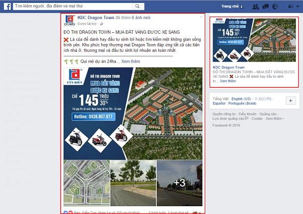 bất động sản facebook