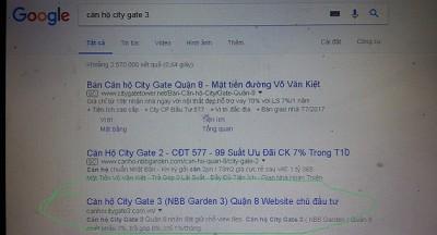 seo dự án căn hộ city gate 3